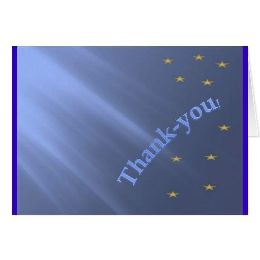 Tacka-dig Hälsnings Kort