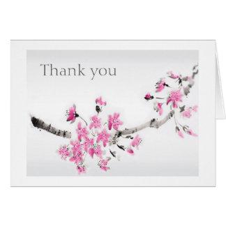 Tacka dig hälsnings kort