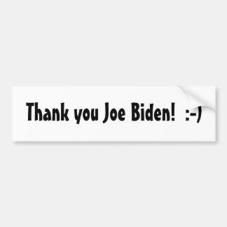 Tacka dig Joe Biden! Bildekal