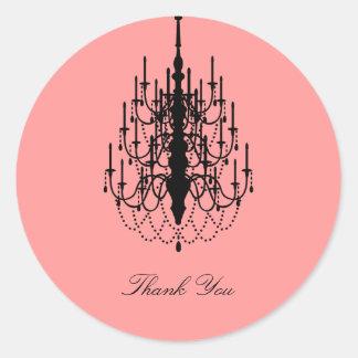 Tacka dig klistermärken/märkren runt klistermärke