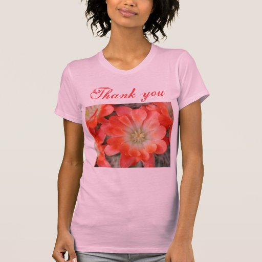 Tacka dig kvinna skjorta tee shirts