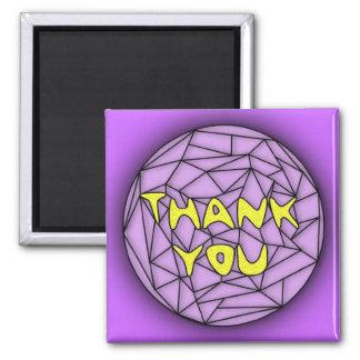 Tacka dig magneten magnet