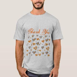 Tacka dig manar skjorta tee shirt