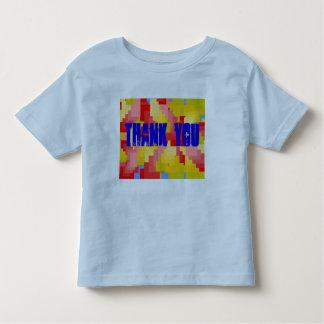 Tacka dig småbarnskjortan t shirt