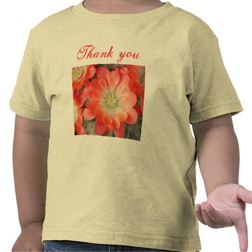 Tacka dig småbarnskjortan t-shirt