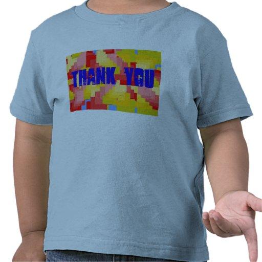 Tacka dig småbarnskjortan tröja