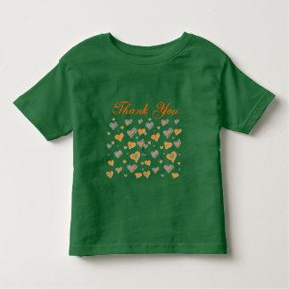 Tacka dig småbarnskjortan tee shirt