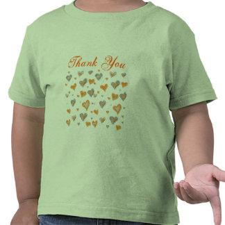Tacka dig småbarnskjortan t-shirts