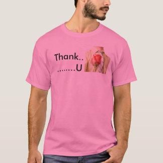 Tacka dig T-tröja T-shirt