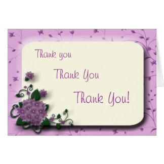 Tacka dig tackar dig hälsnings kort