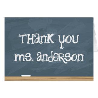 Tacka din lärare eller handleda! (tillfoga lärare hälsningskort