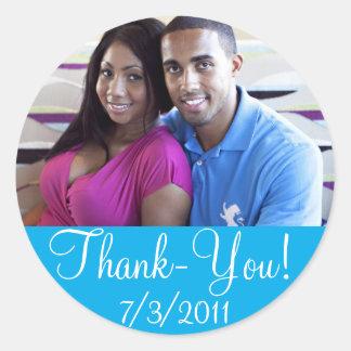 Tacka-du Bröllop Klistermärke