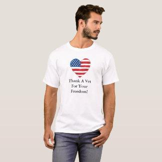Tacka en VetfrihetsT-tröja Tshirts