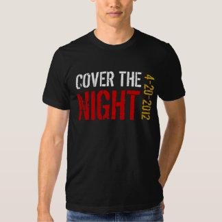 Täcka natten Kony 2012 T-shirt