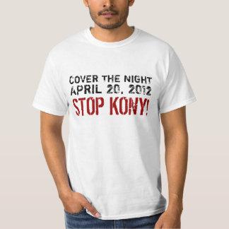 Täcka nattstoppet Kony Tee Shirt