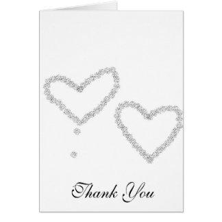 Tackbröllopkort Hälsningskort