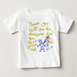 Tackgud för min far (för pojkar) tröja