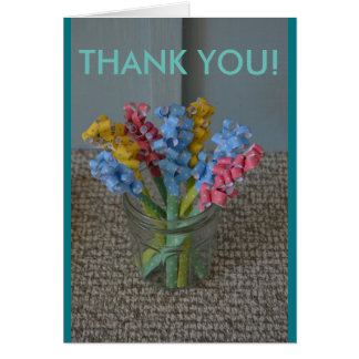 Tackhälsningkort Hälsningskort
