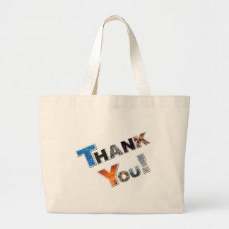 Tackkanfas hänger lös tote bags