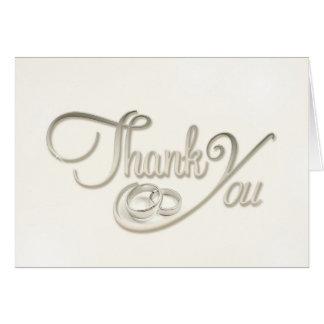 Tackkort (bröllop) OBS kort