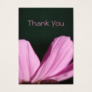 Tackkort - Comos & solen - blom- fotografi Visitkort