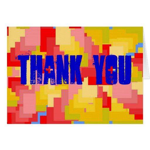 Tackkort Hälsnings Kort