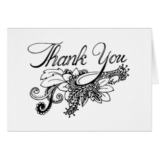 Tackkort Hälsningskort