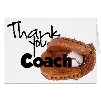 Tacklagledare, baseball hälsningskort