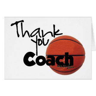 Tacklagledare, basket hälsningskort