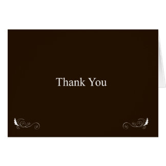 Tackrik bryner hälsningskort