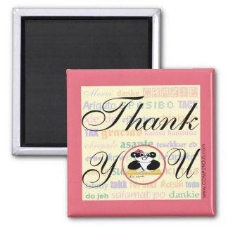 Tacksamhet betyder samma i något språk magnet