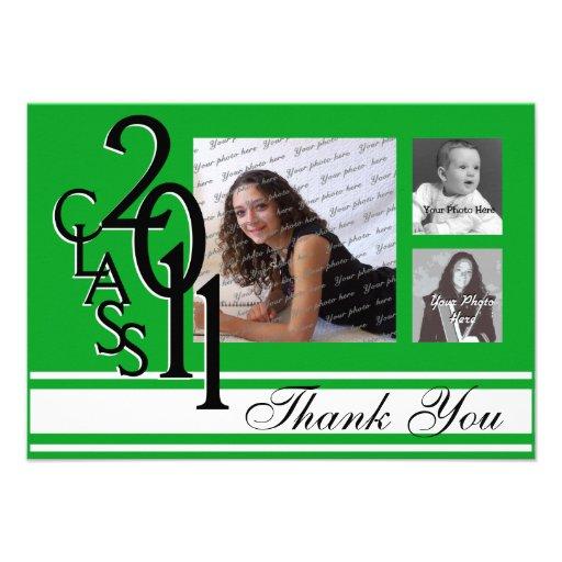 Tackstudenten 2011 kort för inbjudningar