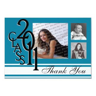 Tackstudenten 2011 8,9 x 12,7 cm inbjudningskort