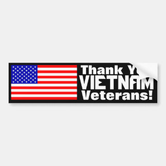 TackVietnam veteran! Bildekal
