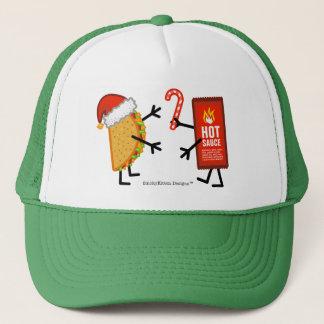 Taco & varm sås - jul truckerkeps