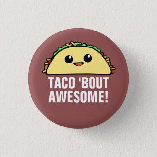 Taco'anfallfantastisk Mini Knapp Rund 3.2 Cm