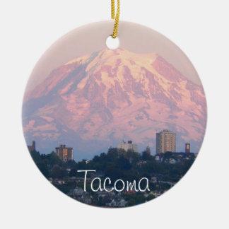 Tacoma Washington foto Julgransprydnad Keramik