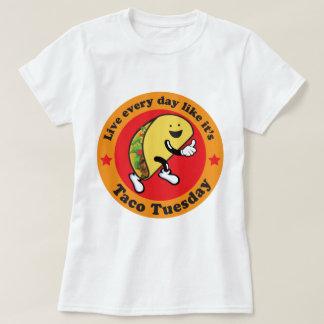 Tacotisdag varje dag t shirts