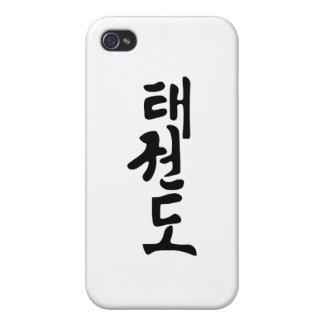 Taekwondo iPhone 4 Cover