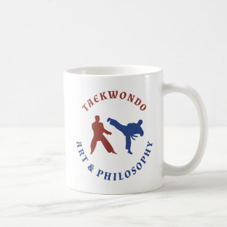 Taekwondo konst & filosofi kaffemugg