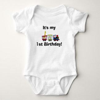 tåg är det my1st-födelsedagen! tröjor