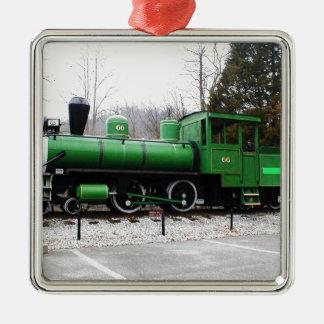 tåg - delstatspark för tunnel för Copy.JPG-visning Julgransprydnad Metall