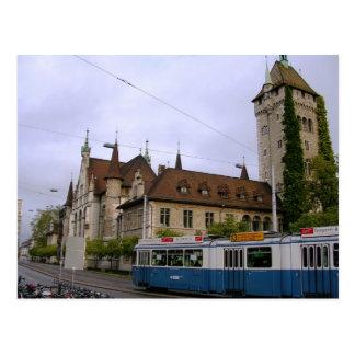 Tåg i Schweitz Vykort