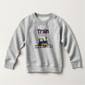 Tåg spårar på t shirts
