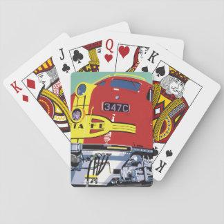 Tåg Spelkort