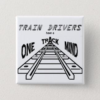 Tågchaufförer Standard Kanpp Fyrkantig 5.1 Cm