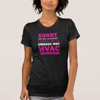 Taget av a-HVAC TECH Tee Shirt