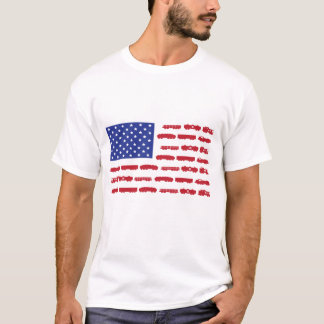 Tågflaggaskjorta Tshirts