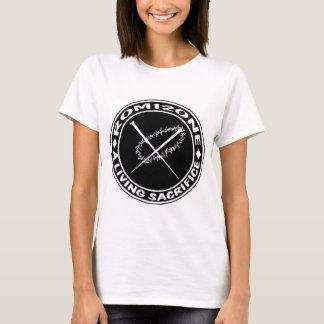 tagg- och nagellogotyp tee shirt