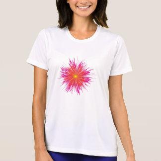 taggen blommar t-skjortan tee shirt